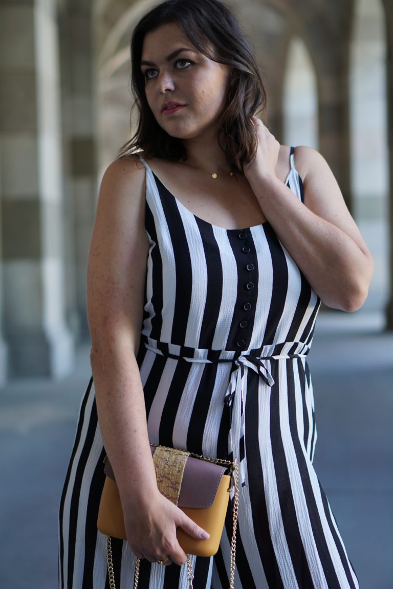 Anna Curve Stripes jumpsuit 038 O bag file name