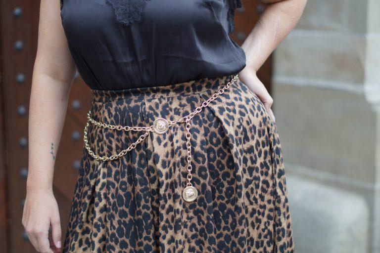 Anna Curve Animalprint Lace 038 Chain Belt file name