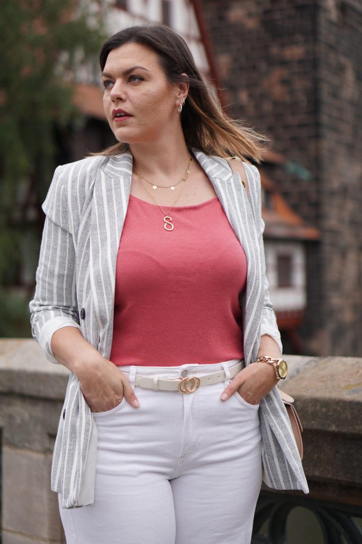 Anna Curve Denim Culotte 038 Linen Blazer file name